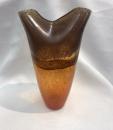 Gilde Glas Vase Arancia Höhe 45 cm