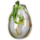 """Gilde GlasArt Design-Vase """"Gecko""""..."""
