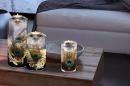 Gilde Großer Teelichtleuchter mit LED-Licht Candela...