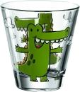 6 er Set von Leonardo Becher 215ml Krokodil Bambini 17900