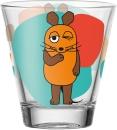 6 er Set von Leonardo Becher 215ml orangene Maus 21418