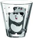 6 er Set von Leonardo Becher 215ml Panda Bambini 17903