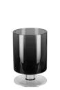Fink VIANA Vase,Windlicht, Glas,grau  Höhe 23cm,...