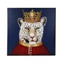 Werner Voß Bild Lord Leopard Acryl auf Leinwand...