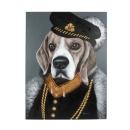 Werner Voß Bild Baron Beagle Acryl auf Leinwand,...