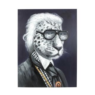 Werner Voß Bild Mr. Leofeld Acryl auf Leinwand, 90x120 cm