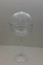 Formano Glasbowl mit abnehmbaren Deckel d:23cm h: 56cm