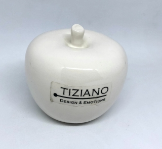 Tiziano Dekoration Dolce Apfel creme 7,5cm 750831